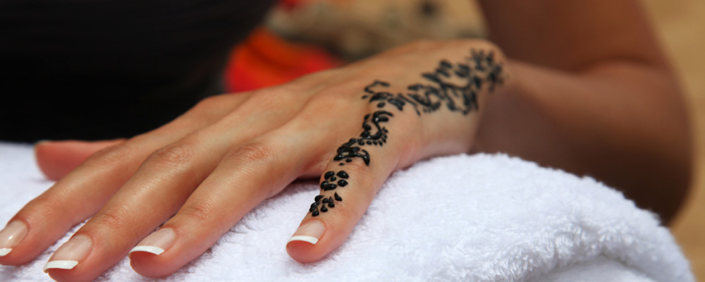 Henna Tattoo Cause Allergies: Black Henna Tattoos Can Cause Allergies To Hair Colourants